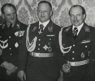1933, Ernst Udet, Erhard Milch and Sepp Dietrich.jpg