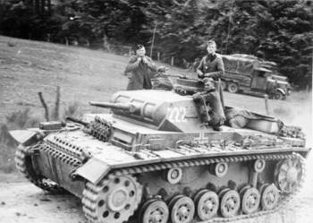 1st panzer division and is on its way to the Meuse river.jpg