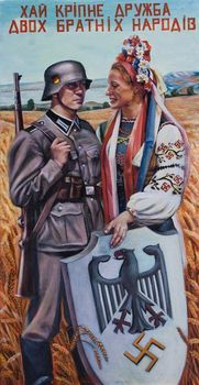 A Nazi propaganda poster encouraging collaboration by Ukrainians.jpg