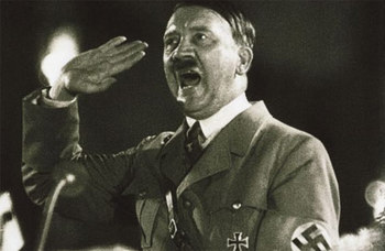Adolf Hitler at the 1934 Nuremberg Party Rally.jpg