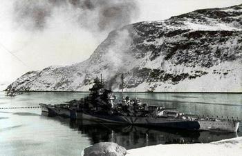 Battleship Tirpitz in Fetten-ferd.jpg