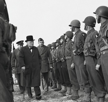 Churchill inspecting American troops in England.jpg