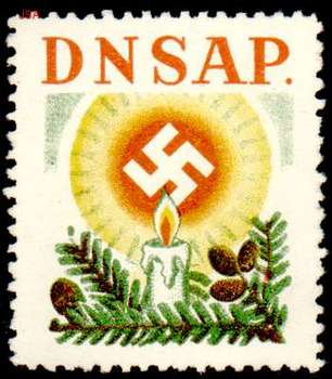 Danish Nazi Party_dnaps-1938_swastika above candle.jpg