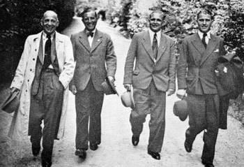 Dornberger, Colonel Zaussen, Dr. Theil, Dr. von Braun.jpg