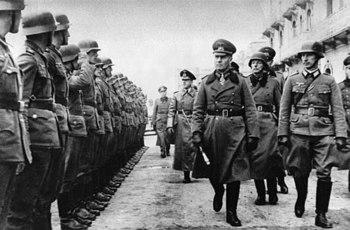 Erwin Rommel inspecting western German defenses.jpg