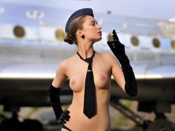 Flight attendant Aeroflot.jpg