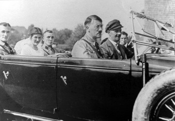 Gerda and Martin Bormann leaving the church on their wedding day 1929.jpg