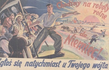German propaganda poster in Polish language _Let's do agricultural work in Germany_.jpg