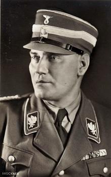 Heinrich Hoffmann postcard of SA-Obergruppenfテシhrer Wilhelm Bruckner.jpg