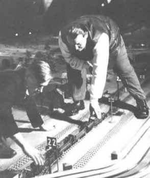 Hermann Goering with his Märklin model railway at Carinhall. The other fellow could well be Franz von Papen.jpg