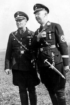 Himmler with Hans Baur, Hitler's personal pilot.jpg