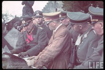 Hitler and Heinrich Himmler inspect the West Wall (Siegfried Line) in August 1938.jpg