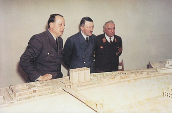 Hitler_Ley looks upon a large scale model of a city linz.jpg