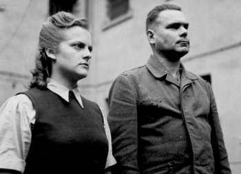 Irma Grese and Josef Kramer at Celle Prison.jpg