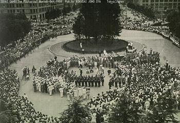 Japanese crowds welcoming Hitler Jugend in front of Tokyo station.jpg