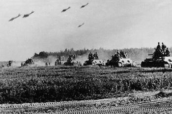 Juli 1943. Die größte Panzerschlacht. Im Kursker Bogen startet die Wehrmacht eine Großoffensive gegen die Rote Armee.jpg