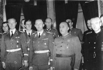 Karl Wolff, Joachim Peiper, Heinrich Himmler, Franco,.jpg