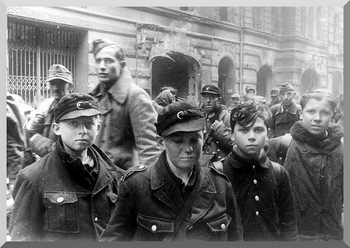 Mere boys. Perhaps of Hitler Youth. These were the fighters that were defending Hitler in his last days. Sad.jpg
