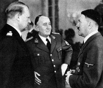 Minister President Vidkun Quisling of Norway with Führer Adolf Hitler.jpg