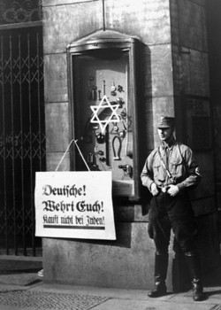 Nazi Boycott Against Jews Begins April 1, 1933.jpg