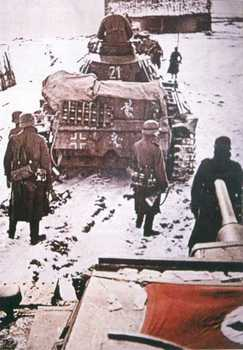 Panzer Unit on the way to Moscow, presumably Winter of 1941.jpg