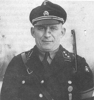 Paul Otto von Radomski with the rank of SS-Untersturmführer..JPG