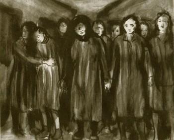Ravensbrück prisoner Helen Ernst. Women of Ravensbruck.jpg