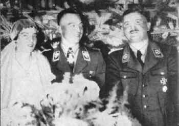 SA Chief of Staff Ernst Roehm as a guest at the wedding of the SA Chief of Berlin Karl Ernst in May 1934..jpg