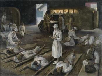 SUZUKI, Ryozo  患者後送と救護班の苦心 (1943).jpg