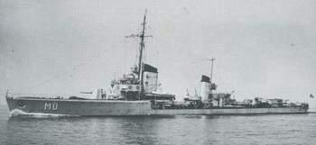 Torpedoboot Möwe. Baugleich mit Kondor und Albatros und ebenfalls zur Kriegsschiffsgruppe 5 gehörig !.jpg