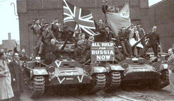 Valentine Mark II tanks are readied for shipment to Russia.jpg