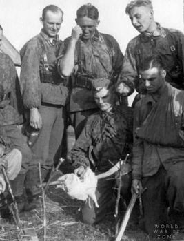 Waffen SS troops and  chicken.jpg