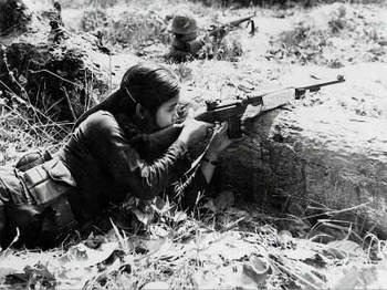 Woman NLF Fighter in Cu Chi 1966.jpg