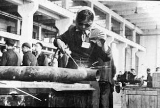 working as a welder at IG Farben Auschwitz.jpg