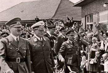 1939, Hitler and Goering visiting an airforce test range..jpg