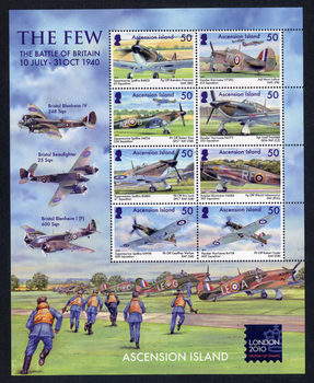 70th anniversary of The Battle of Britain and Festival of Stamps London 2010.jpg