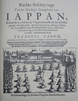 A True Description of the Mighty Kingdoms of Japan_François Caron_1661.jpg