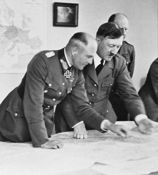 Adolf Hitler, Jodl, and Walther von Brauchitsch.jpg