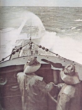 An U-boot on surface navigation in the Atlantic, winter 1941-42..jpg