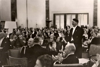 Berchtesgaden, Germany, 1939, Hitler hosting a charity concert at his home.jpg