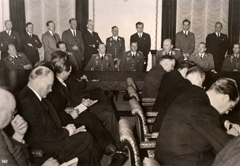 Berlin, Germany, December 1939, A press conference at the Ministry of Propaganda​..jpg
