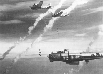 Boeing B-17s, the Flying Fortresses of the U.S. Eighth Air Force, bombed Berlin.jpg