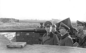 Dunkirk, Rommel for inspection of the mounting '43.jpg