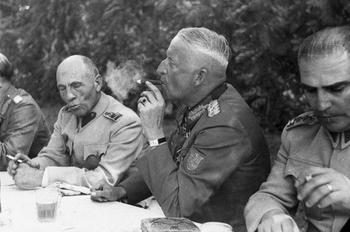 Erich von Manstein with Turkish generals.jpg