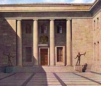Es sind Entwürfe für die Ausführung der überlebensgroßen Figuren am Hauptportal der Neuen Reichskanzlei in Berlin.jpg