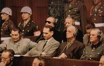 Göring, Hess, von Ribbentrop, Keitel,Nuremberg trials.jpg