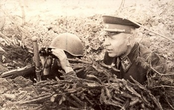 General Timoshenko visiting the front_1942.jpg