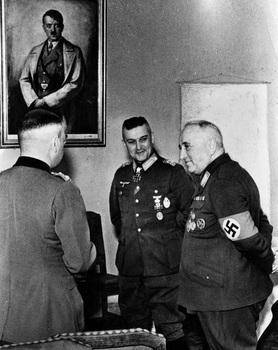 Generalfeldmarschall Walter Model & Reichsleiter Robert Ley, December 1944.jpg