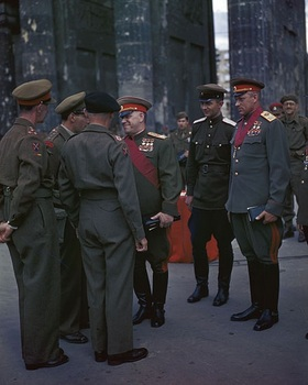 Georgy Zhukov and Konstantin Rokossovsky 1945.jpg