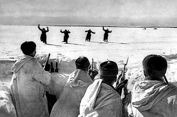 German soldiers surrendering to Soviets on the outskirts of Moscow.jpg